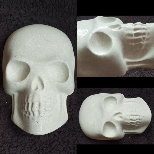 skull grow out rock 8 inch x 5 inch x 2 inch FREE DELIVERY